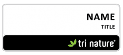Tri Nature name badge