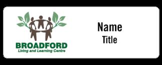 Broadford Living & Learning Centre name badge