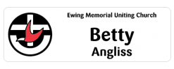 Uniting Church Australia - Congregations name badge