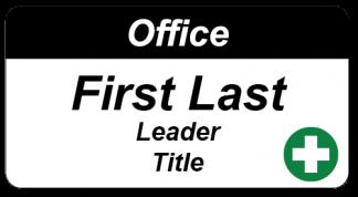 Men's Shed - SBD office holders name badge