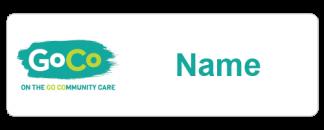 GoCo name badge