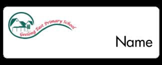 Geelong East Primary School name badge