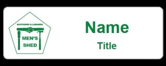 Men's Shed Southern Illawarra name badge