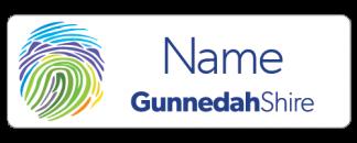 Gunnedah Shire staff name badge