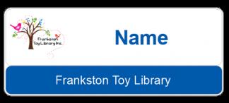 Frankston Toy Library name badge