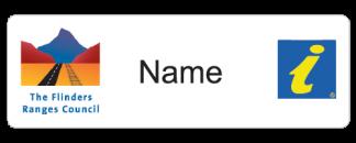 Flinders Ranges Council Visitor Information name badge