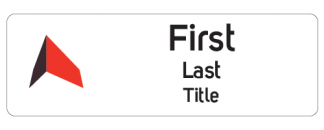 BWP Trust name badge