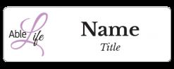 AbleLife name badge